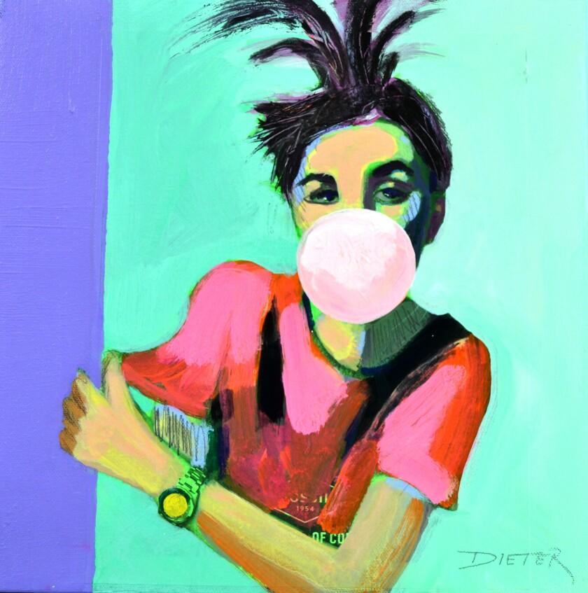 """""""Bubble Girl"""" by Ellen Dieter."""