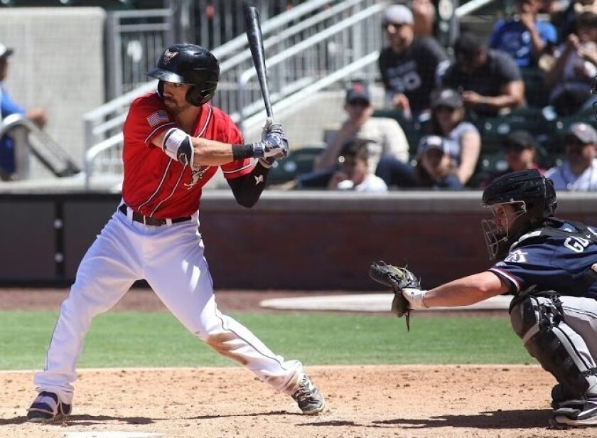 Padres infield prospect Carlos Asuaje began his stay in the organization at Triple-A El Paso. He was one of four prospects acquired in the Craig Kimbrel deal.