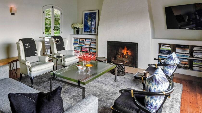 In California, adding a wood-burning fireplace is limited generally to older homes where the feature was pre-existing.