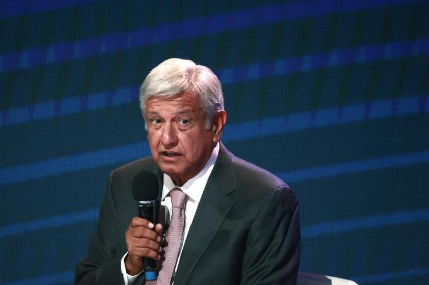 Andrés Manuel López Obrador, quien fue jefe de Gobierno del 2000 al 2005. EFE/Archivo