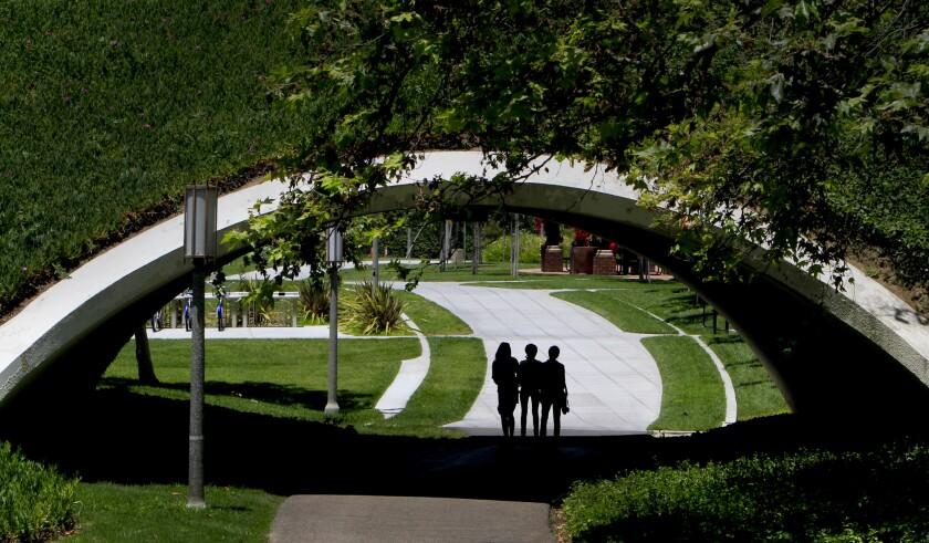 The UC Irvine Campus