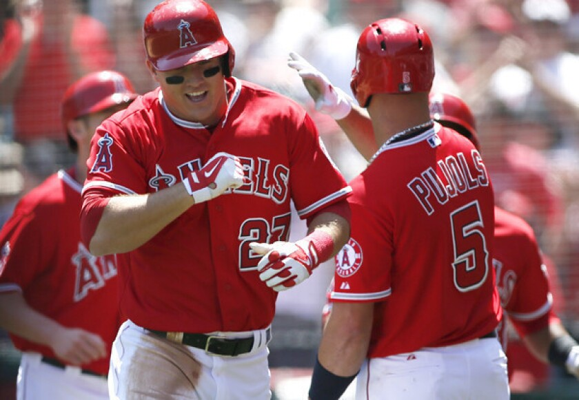 Garrett Richards cruises after Angels score nine in first inning