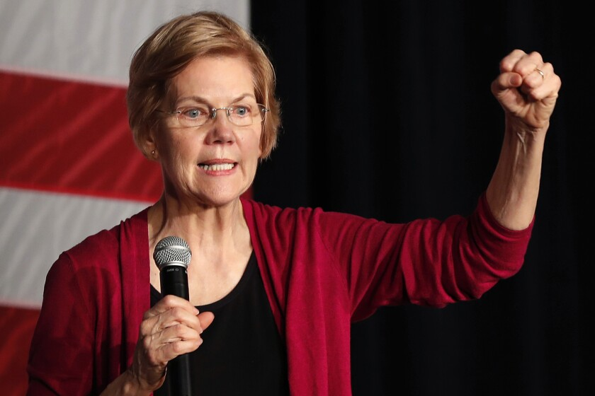 Opinion: Coronavirus has made it abundantly clear — the world needs Elizabeth Warren to be vice president
