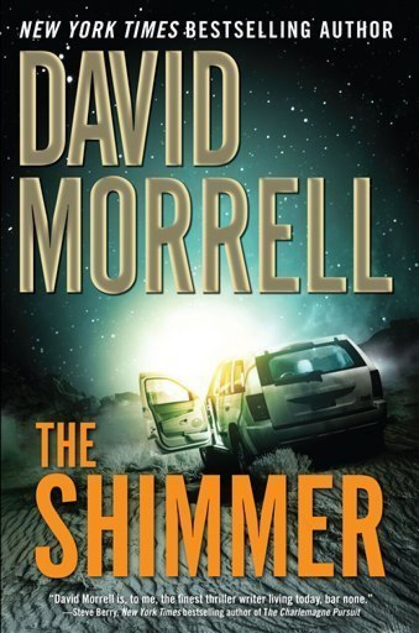 """In this book cover image released by Vanguard Press, """"The Shimmer,"""" by David Morrell is shown. (AP Photo/Vanguard Press)"""