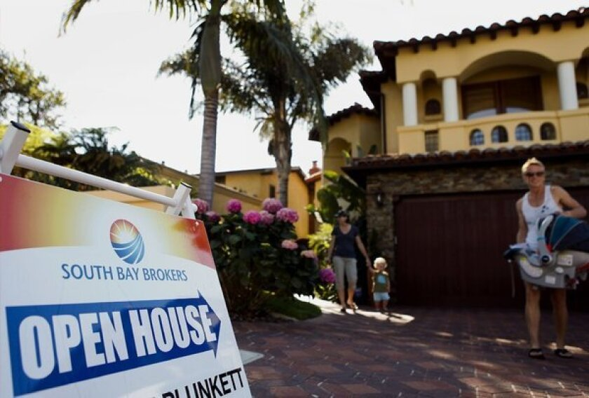 A home for sale in Manhattan Beach. Prices in the Southern California indicate demand is outstripping supply.