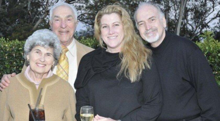 Joyce and Jere Oren, Dede and Bill Jones (Photo: Rob McKenzie)
