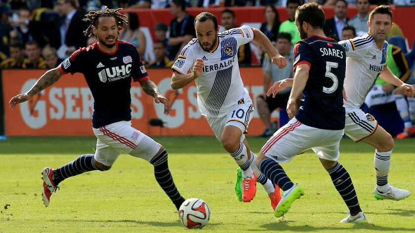 Jermaine Jones, Landon Donovan, A.J. Soares