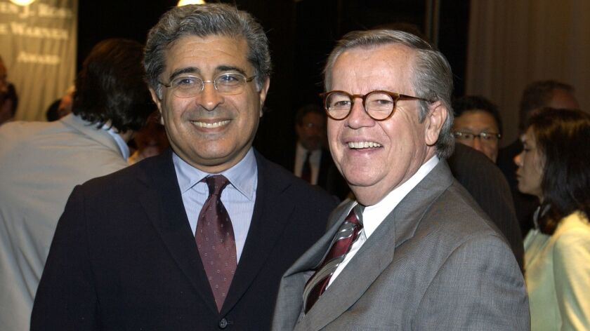 Robert A. Daly Receives The 2004 Steven J. Ross/Time Warner Award