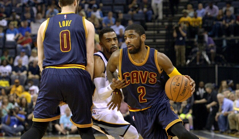 Kevin Love, Mike Conley, Kyrie Irving