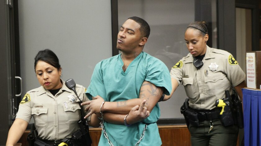 Titus Nathan Colbert in his first court appearance.
