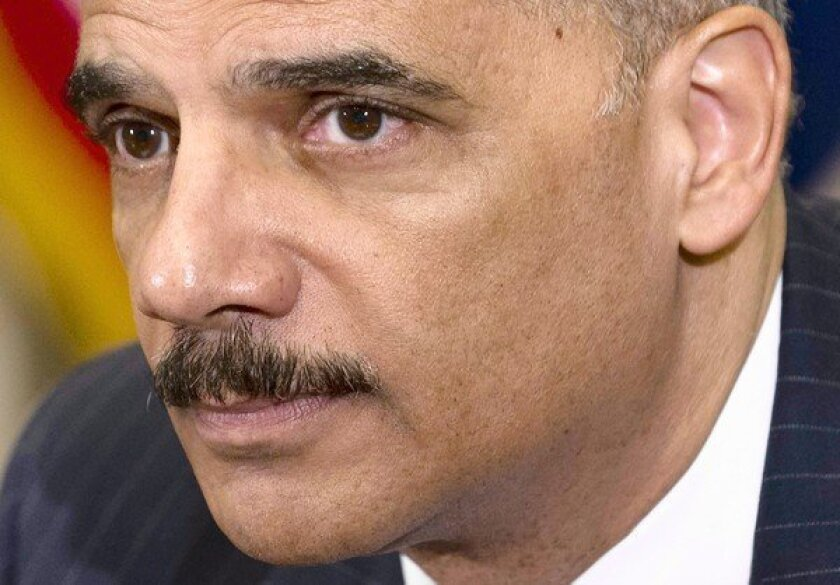 """After the report's release, Atty. Gen. Eric Holder fired back at what he said were """"unsubstantiated conclusions"""" by Republican lawmakers who have been sharply critical of his activities relating to the Fast and Furious operation."""
