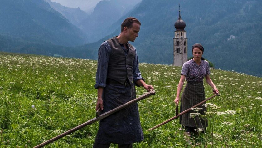 """A scene from Terrence Malick's movie """"A Hidden Life,"""" which will premiere at the 72nd Cannes Film Festival."""