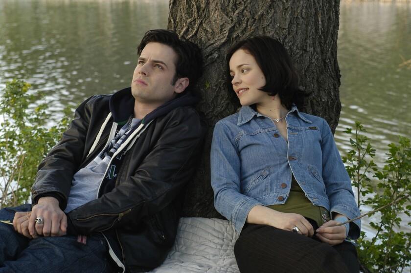 """Luke Kirby and Rachel McAdams in """"Slings & Arrows"""""""