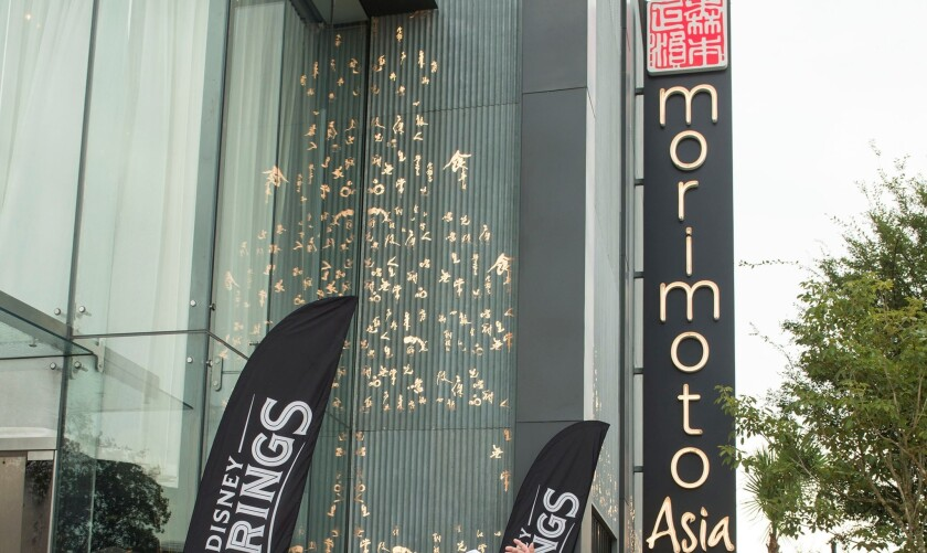 A food service worker at Morimoto Asia in Disney Springs contracted hepatitis A.