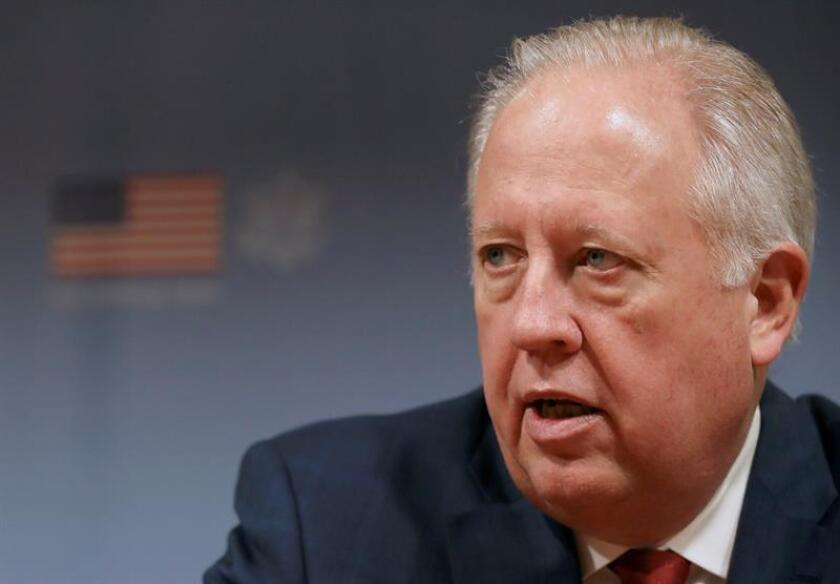 El subsecretario de Estado para Asuntos Políticos de Estados Unidos, Thomas Shannon. EFE/Archivo