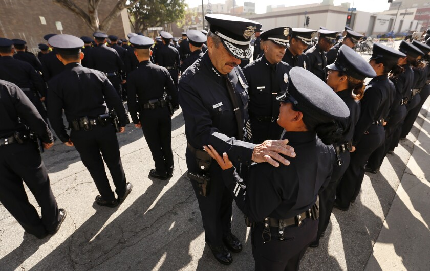 Must Reads: Retiring after more than 40 years, LAPD Chief