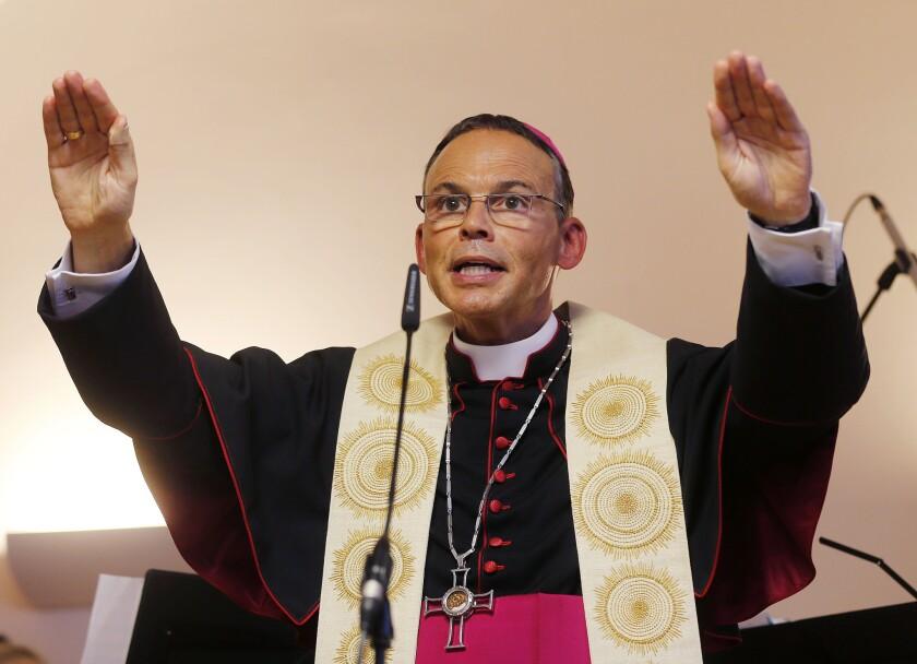 German Bishop Franz-Peter Tebartz-van Elst
