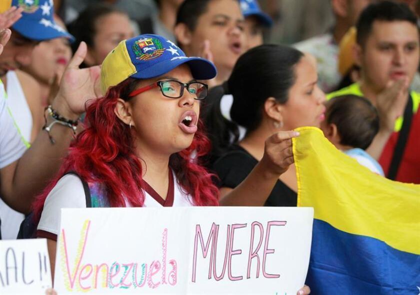 Los países del Grupo de Lima presentarán una resolución sobre la crisis política y social de Venezuela durante la próxima Asamblea General de la Organización de Estados Americanos (OEA), que se celebrará en Washington el 4 y el 5 de junio. EFE/Archivo