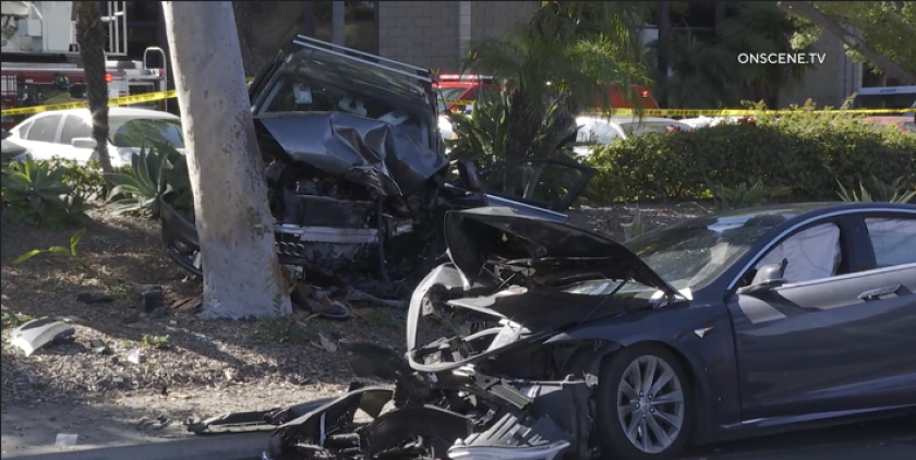A driver suspected of DUI rear ended another driver in Serra Mesa on Wednesday.