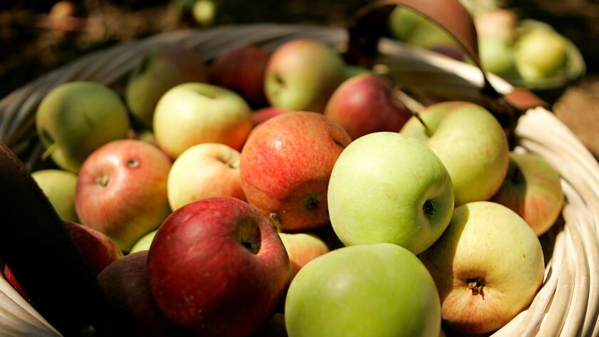 Julian's Apple Days Festival features apple displays, music, dancing and plenty of apples.