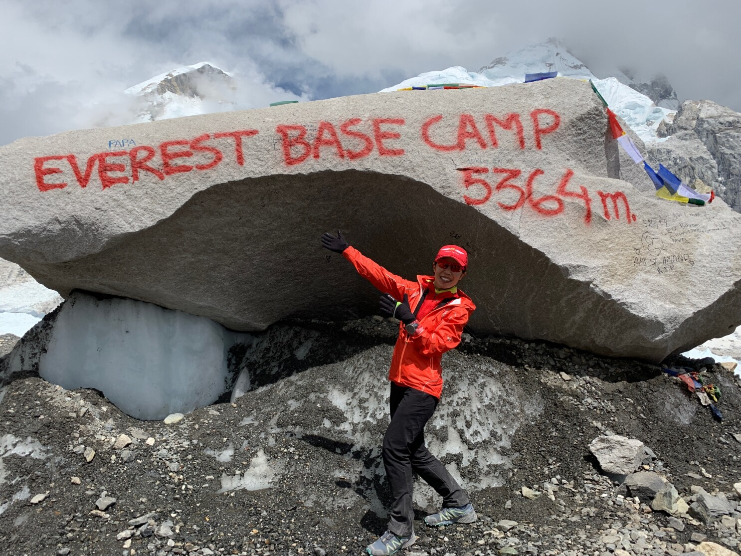 17fdb3f52ad Local ultra-runner is first American woman to complete Mount Everest ...