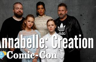 """Annabelle: Creation"" Cast Says They Blessed The Set"