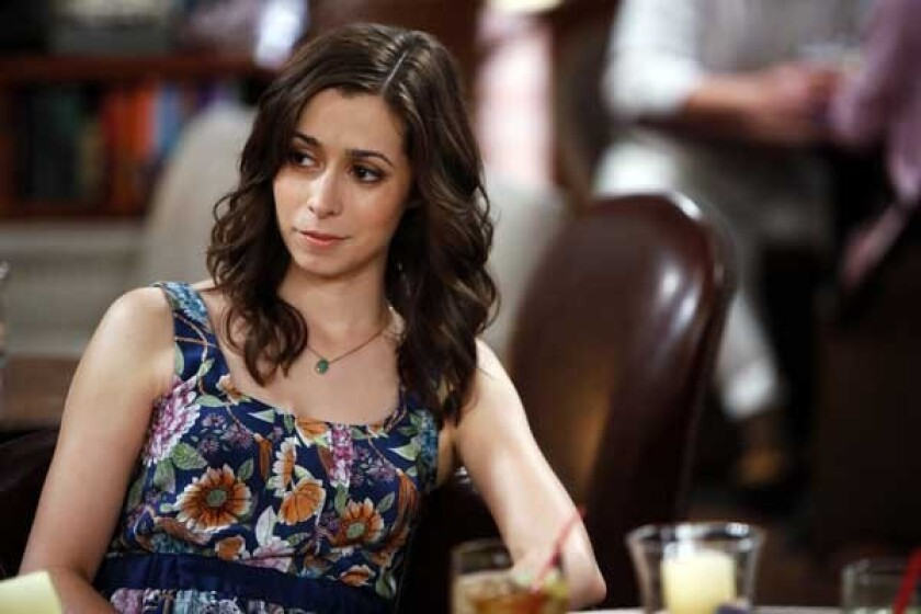 """Cristin Milioti in the season premiere of """"How I Met Your Mother"""" on CBS."""