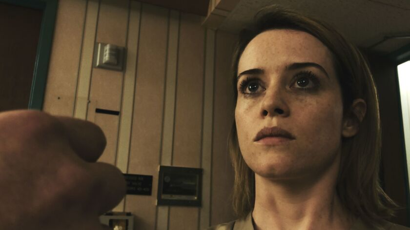 """This image released by Bleecker Street shows Claire Foy in a scene from """"Unsane."""" (Bleecker Street v"""
