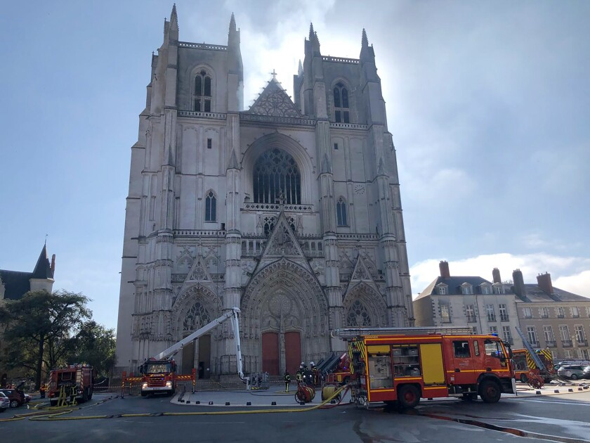 St. Peter and St. Paul Cathedral in Nantes, France