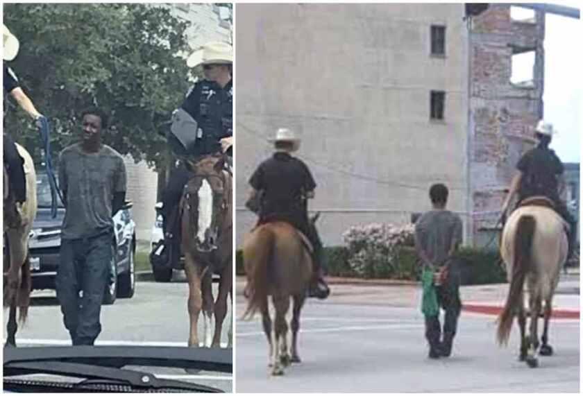 Las fotos del incidente se viralizaron en las redes sociales.