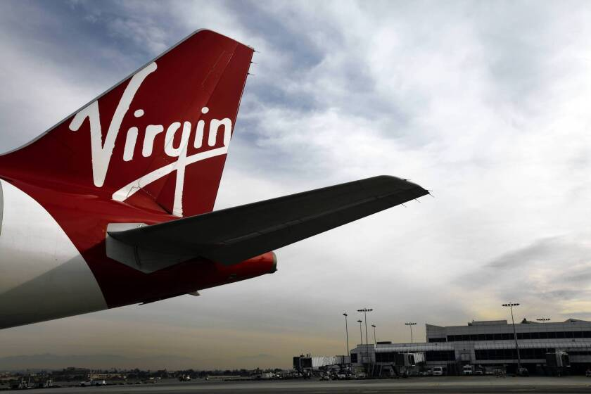 "A professor has ranked Virgin America as the top airline in the nation for offering healthful food options to passengers such as roasted pear and arugula salad, a ""protein plate"" with hummus and whole wheat pita bread, plus oatmeal for breakfast."