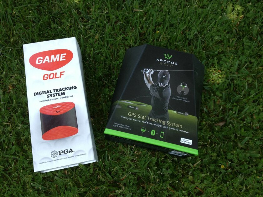 Game Golf and Arccos Golf have produced impressive GPS tracking systems that give the average golfer a chance to see break down stats like the pros.