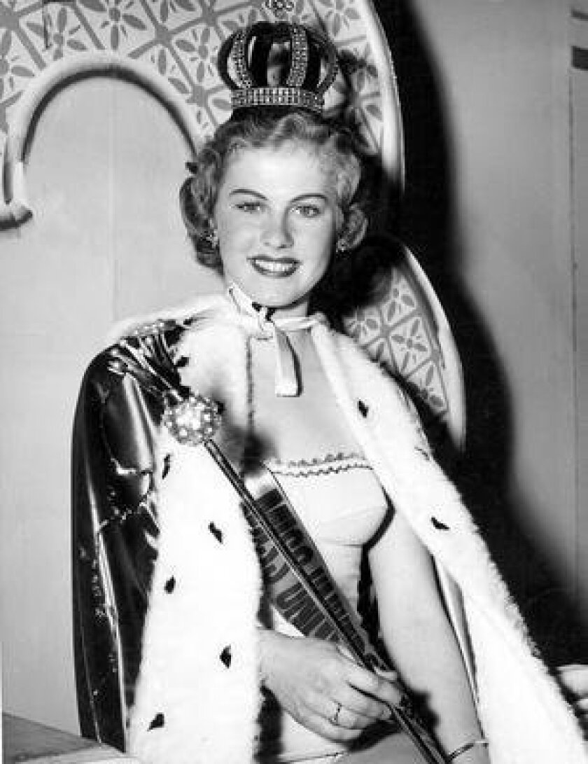 Armi Kuusela, from Finland, was crowned the first Miss Universe in 1952. She now lives in La Jolla.