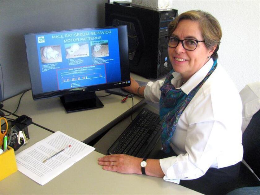 Fotografía donde aparece Gabriela Rodríguez Manzo, investigadora del Departamento de Farmacobiología del Centro de Investigación y de Estudios Avanzados (Cinvestav), Unidad Coapa. EFE/SOLO USO EDITORIAL