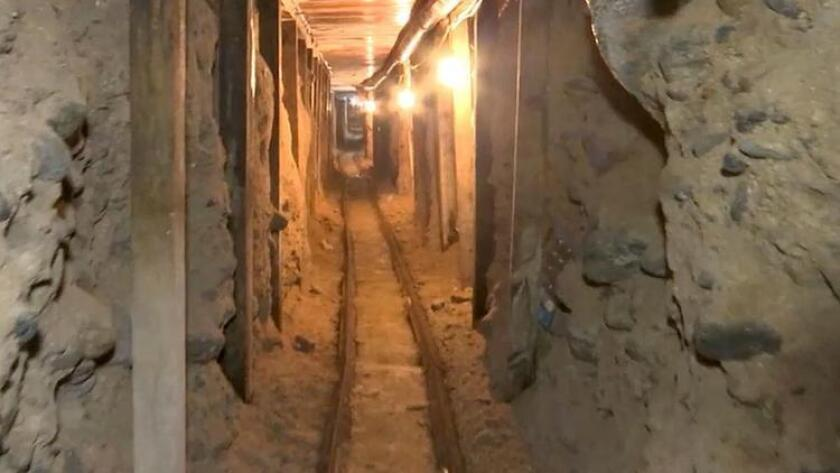 Sinaloa cartel is behind two border tunnels, Mexican officials say - Los  Angeles Times