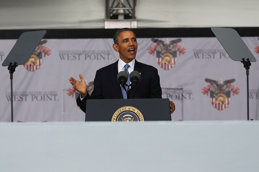 President Obama at West Point