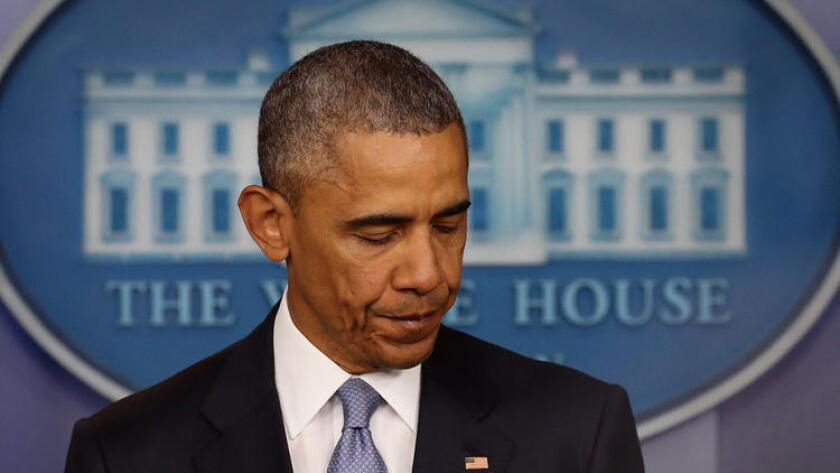 President Obama answered questions Friday at the White House.