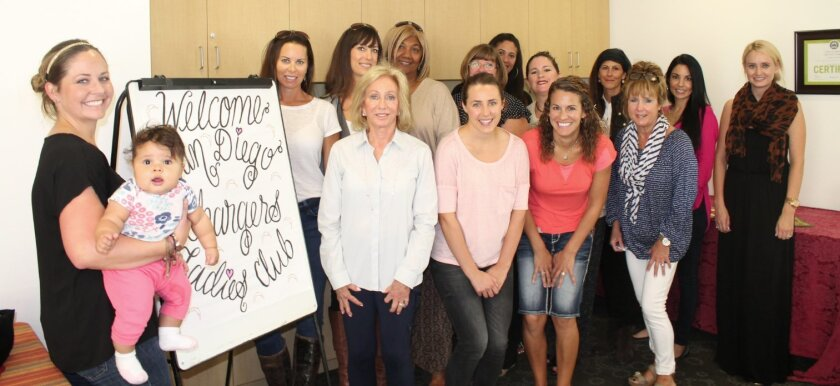 The San Diego Chargers Ladies Club visited Casa de Amparo in December to learn about its programs fighting child abuse and neglect.
