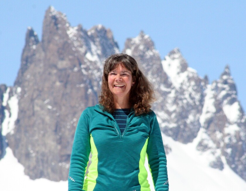 "Del Mar resident Jennifer K. Crittenden spent two years in the Eastern Sierras to write her new book, ""The Mammoth Letters: Running Away to a Mountain Town."""