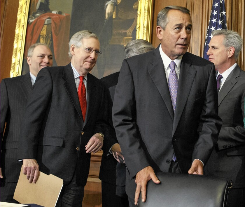 Steve Scalise, Mitch McConnell, John Boehner, Kevin McCarthy
