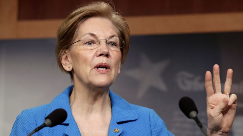 Sen. Elizabeth Warren (D-Mass.) had pushed for a vote by the Fed board, rather than just a staff endorsement, when deciding whether to lift the penalty placed on Wells Fargo.
