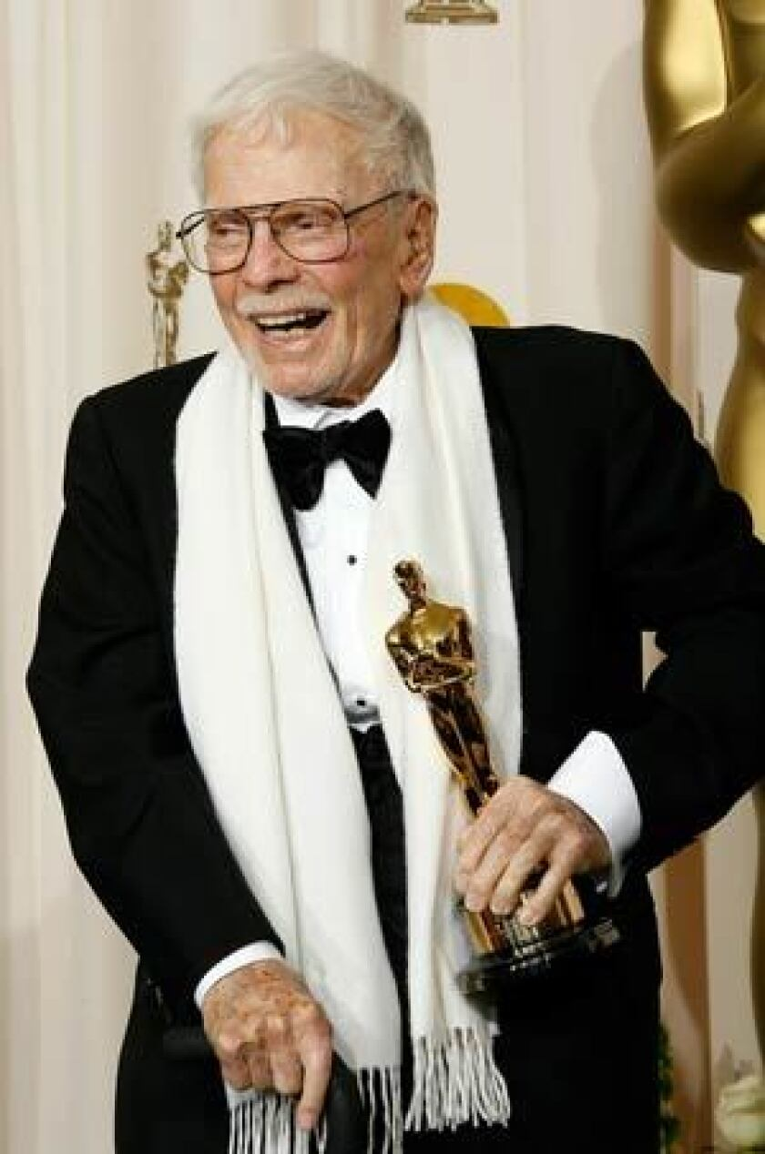 Robert F. Boyle, who worked on more than 100 films during a career that spanned six decades, received an honorary Academy Award in 2008.