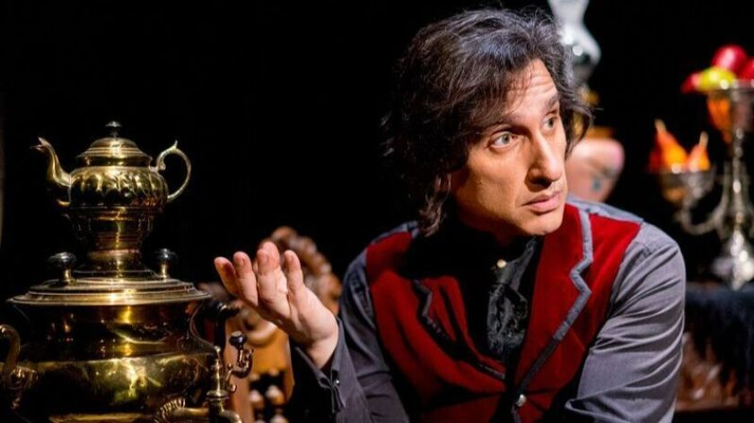 "Hershey Felder in ""Our Man Tchaikovsky"" at San Diego Rep."
