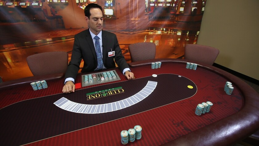 Chad Barnett, chief financial officer for The Casino Institute on Miramar Road, said with a little p