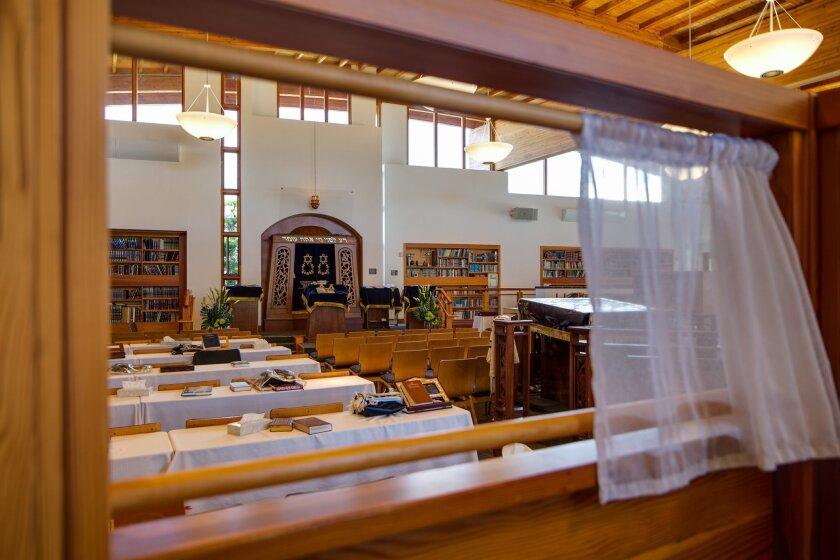 Congregation Adat Yeshurun is at 8625 La Jolla Scenic Drive in La Jolla. Photos by Milan Kovacevic
