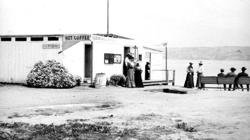 The first bathhouse offered coffee, changing rooms and sitting areas.