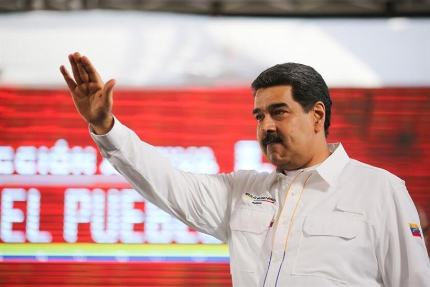 A photo of Venezuelan President Nicolas Maduro during a government event on Feb. 20, 2019, in San Francisco de Yare, Venezuela. EPA-EFE/MIRAFLORES PRESS OFFCE/