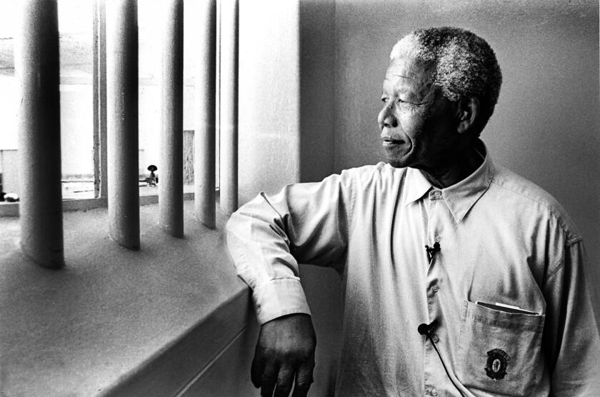 Mandela Back On Robben Island