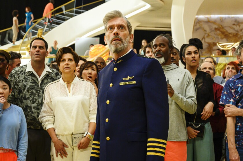 "Hugh Laurie in Armando Iannucci's follow-up to ""Veep,"" HBO's ""Avenue 5."""