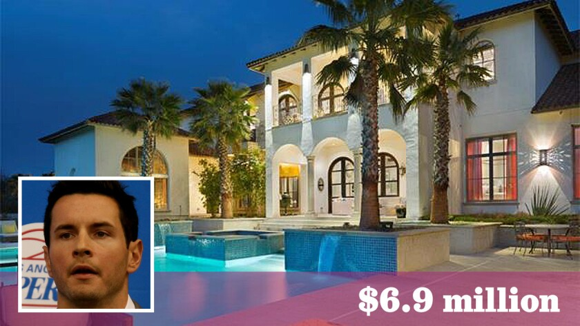 The L.A. Clippers guard has put his 9,479-square-foot home in Austin, Texas, on the market at $6.9 million.
